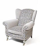 Mackenzie Childs MacKenzie-Childs Underpinnings Classic Wing Chair
