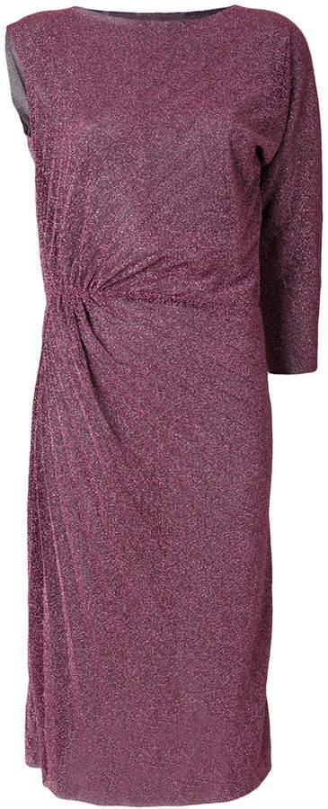 A.F.Vandevorst ruched glitter dress