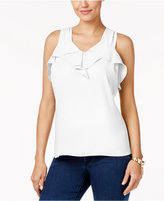 Thalia Sodi Ruffled Tank Top, Created for Macy's