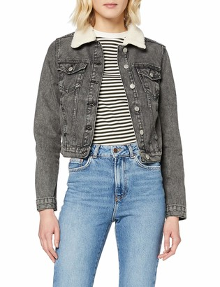 New Look Women's Borg Jacket Mocha Jeans