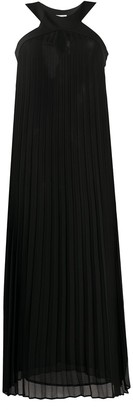 Liu Jo Pleated Halter Dress