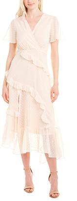 Cistar Swiss Dot Midi Dress