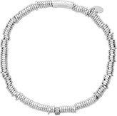 Links of London Sweetie XS sterling silver and diamond pave bracelet