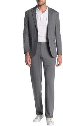 Kenneth Cole Reaction Sharkskin Two Button Slim Fit Suit