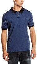 Religion Men's Zander Oilwash Short Sleeve Polo Shirt