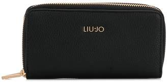 Liu Jo faux-leather zip-around wallet