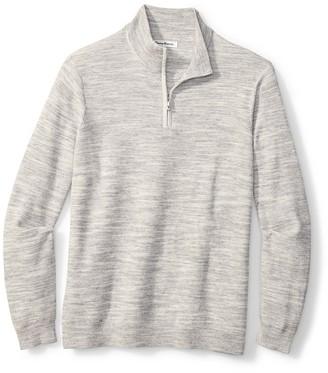 Tommy Bahama Break Line Quarter Zip Pullover
