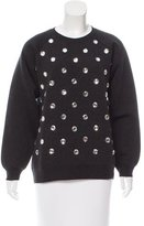 Marc Jacobs Crew Neck Embellished Sweatshirt