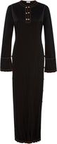 Loewe Embellished Satin Dress