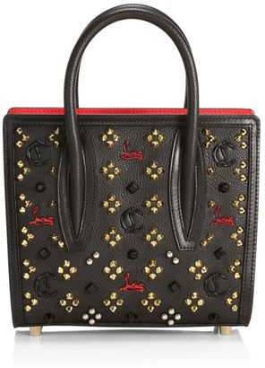 Christian Louboutin Mini Paloma Studded Leather Tote