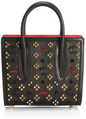 Christian Louboutin Mini Paloma Studded Leather Tote