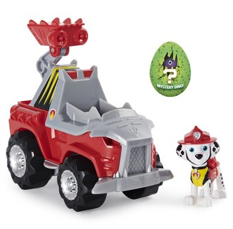 Paw Patrol Dino Rescue Marshalls Deluxe Rev Up Vehicle with Mystery Dinosaur Figure