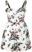 Valentino Enchanted Jungle dress - women - Silk/Cotton/Linen/Flax/Metallic Fibre - 40
