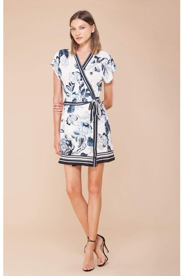 Hale Bob Soleil Jersey Wrap Dress