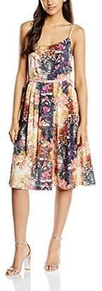 Yumi Women's Sunlight Floral Knee-Length Sleeveless Dress,(Manufacturer Size: 12)