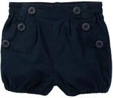 Tea Collection Maritime Woven Shorts (Baby Girls)