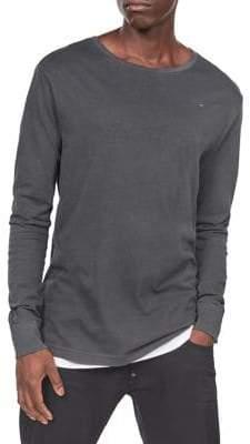 G Star Long Sleeve Cotton T-Shirt