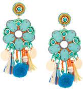 Ranjana Khan tassel detail earrings