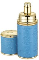 Creed Refillable Leather & Goldtone Pocket Atomizer/Blue