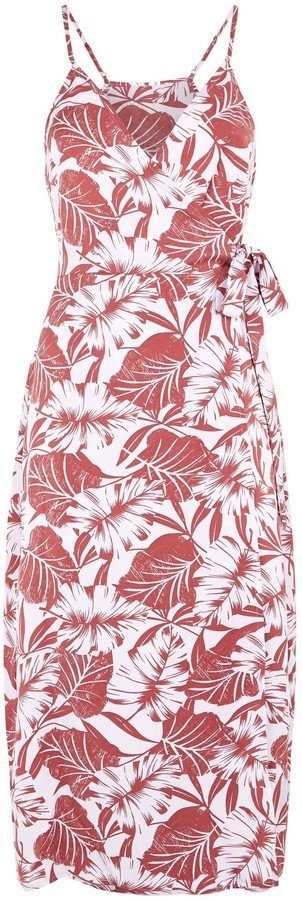 Thumbnail for your product : New Look Urban Bliss Tropical Print Midi Dress