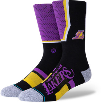 Stance Los Angeles Lakers 2020 Shortcut 2 Socks Purple L