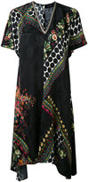 Etro printed v-neck dress