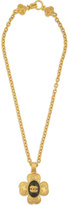 WGACA Vintage Chanel 96 Vine Motif Necklace