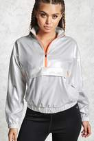 Forever 21 Active Metallic Anorak