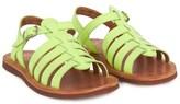 Pom D'Api Pom Dapi Neon Yellow Plagette Sandals