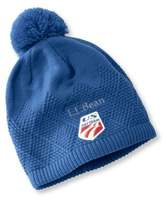 L.L. Bean U.S. Ski Team Knit Pom Hat