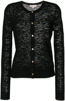 MICHAEL Michael Kors lace knit cardigan - women - Nylon/Viscose - M