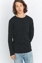 Edwin Black Waffle Long Sleeve T-shirt