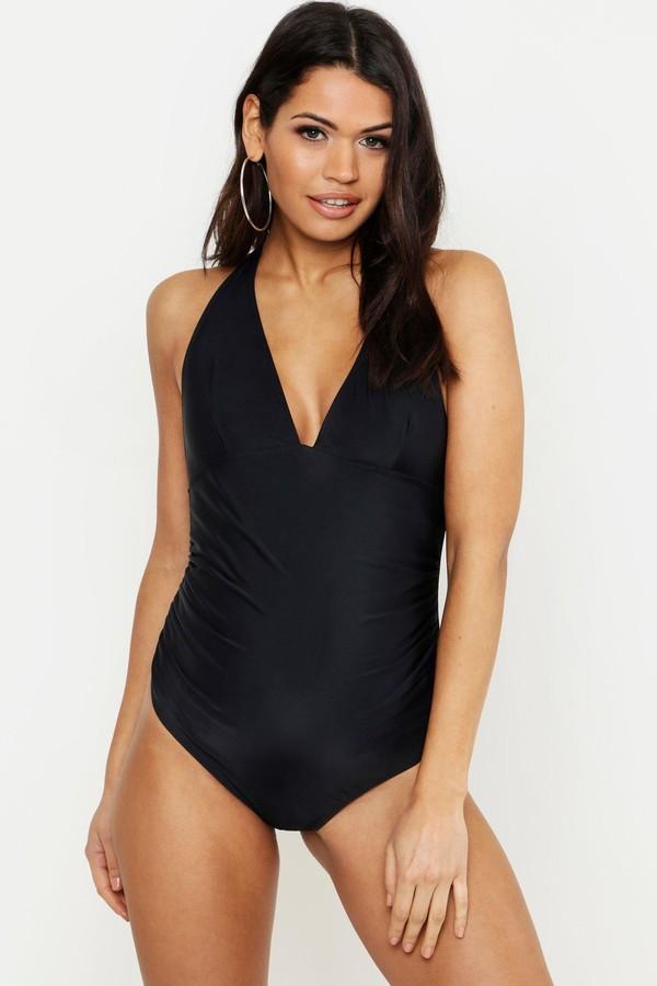 Maternity Bump Control Halterneck Swimsuit