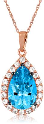 LeVian Le Vian 14K Strawberry Gold 3.43 Ct. Tw. Gemstone Pendant Necklace