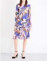 Emilio Pucci Abstract-print silk dress