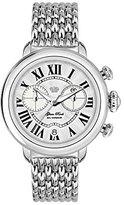 Glam Rock Women's Bal Harbour 40mm Steel Bracelet & Case Swiss Quartz Silver-Tone Dial Watch GR77124N