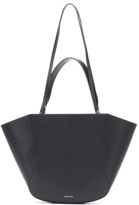 Mansur Gavriel Ocean Medium leather tote