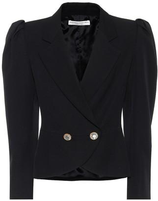 Alessandra Rich Virgin wool blazer
