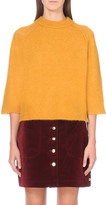 Mo&Co. Boxy knitted jumper