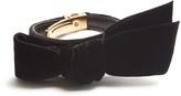 Miu Miu Decorative-bow velvet bracelet