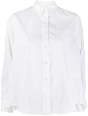 Sacai Pleated Back Panel Shirt