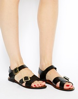 Asos FIRESTORM Leather Sandals