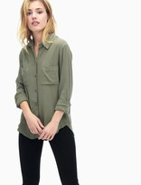 Splendid Bamboo Gauze Button Up Shirt