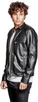 GUESS Jacob Faux-Leather Jacket