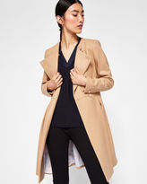 Ted Baker Long pleated coat
