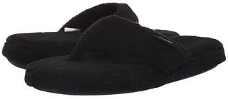 Minnetonka Olivia (Black) Women's Slippers