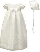 Infant C.i. Castro & Co. Christening Gown & Bonnet Set