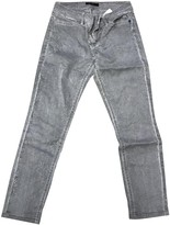 Marc Cain Grey Cotton Trousers for Women