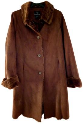 Dennis Basso Brown Coat for Women