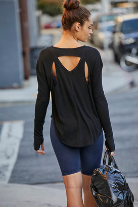 Free People Movement Lay-Up Tee By Free People Movement in Black Size XS